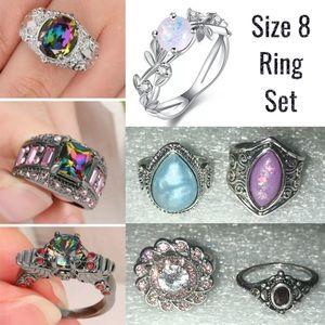Bulk fashion jewelry rings